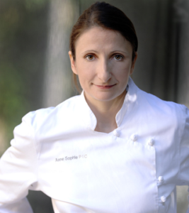 GLOBE BLEU ORCHESTRATES INTERVIEW WITH CELEBRATED CHEF ANNE-SOPHIE PIC
